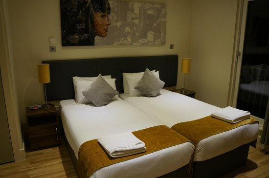 Staycity Aparthotels West End: camas