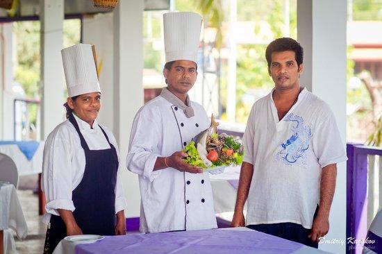 Kulmith Restaurant: Шеф-повар и хозяин ресторана