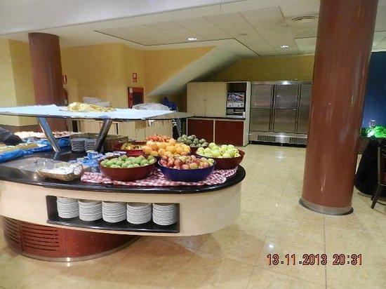 BLAUCEL: buffet desert