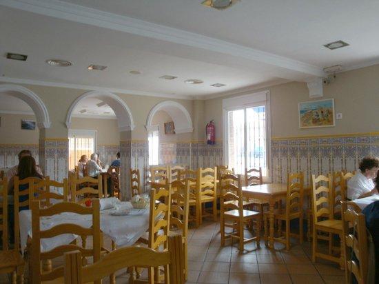 Interior del bar Salas.