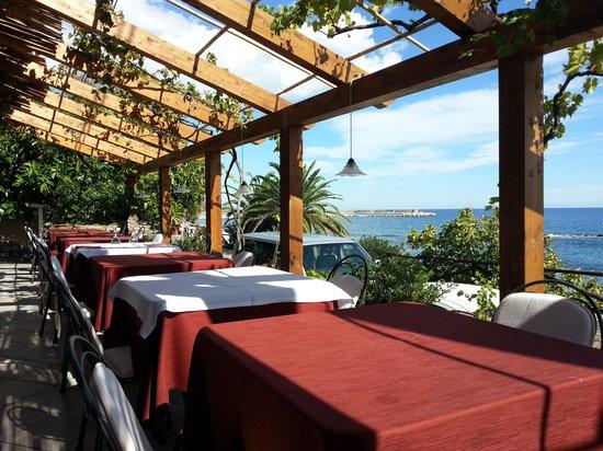 Costa Dorada: Restaurant View