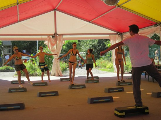 Camping Ile De La Comtesse : Fitness