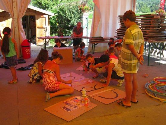 Camping Ile De La Comtesse : Mini club