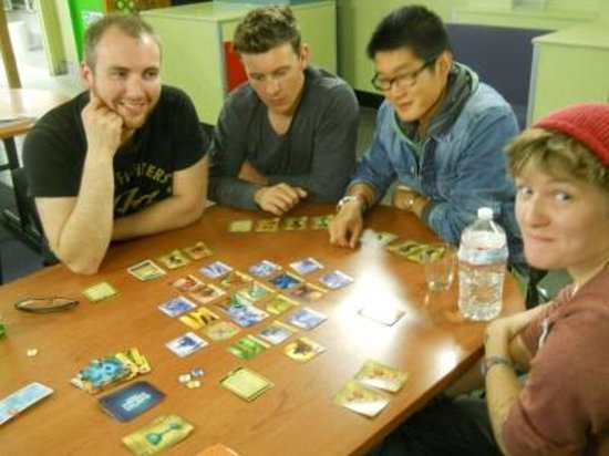 YHA Wellington: Place to meet gamers