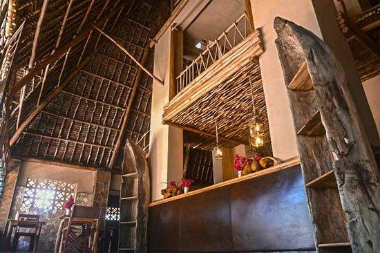 Mawimbi Lodge: RestaurantRistorante interno