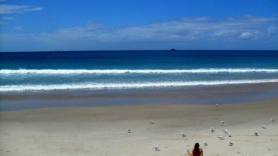 باي موتل: la plage
