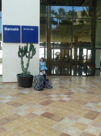 Occidental Jandia Mar: Going home boo hoo