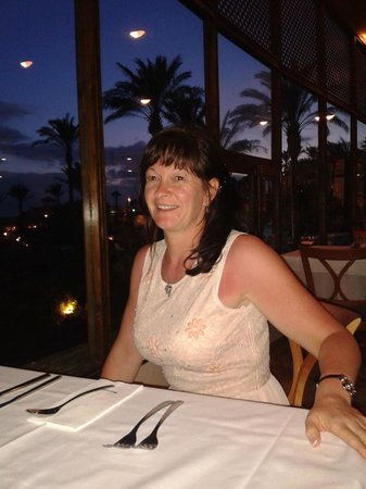 Occidental Jandia Mar: Dining on the terrace