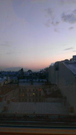 Nevsky Hotel Grand: вид из окна