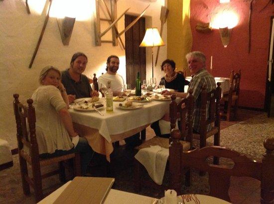 Hospederia la Era: Fantastisk middag