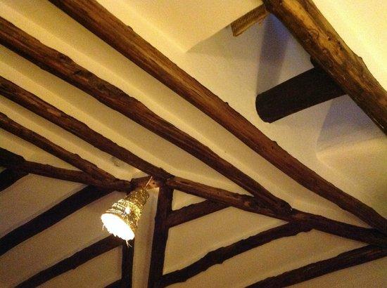 Hospederia la Era : Det nænsomt renoverede loft