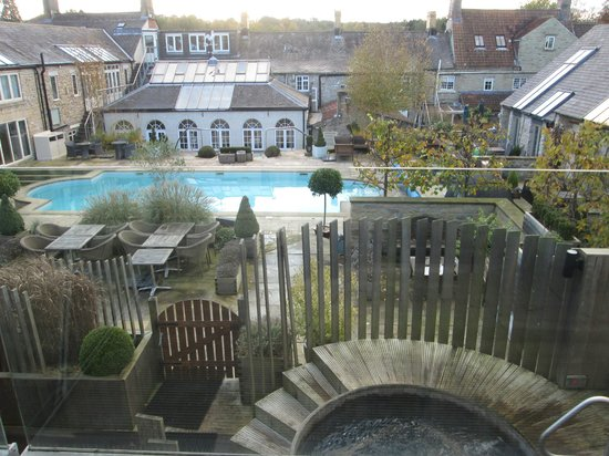 Feversham Arms Hotel & Verbena Spa : room 35 balcony view