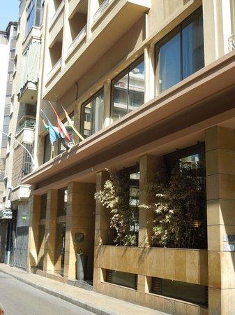 Plaza Hotel: Eingang