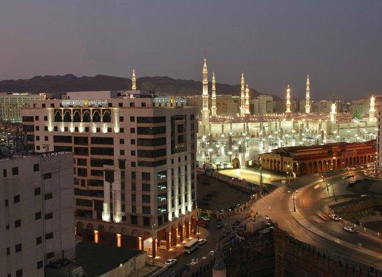 Millennium Taiba Hotel : Hotel View 75% to the Rawdah Shareefah