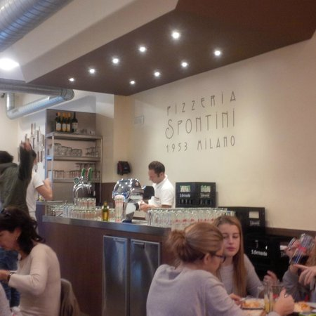Pizzeria Spontini : Bar