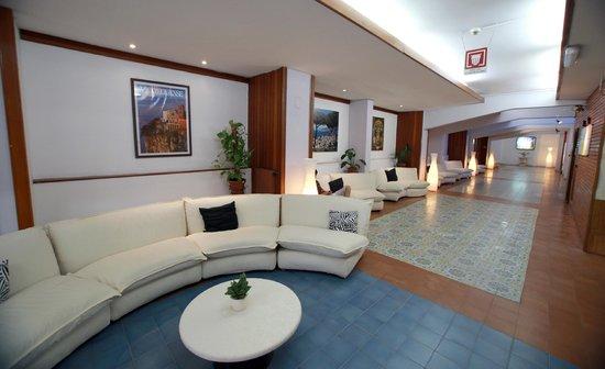 Hall - Picture of Hotel Soggiorno Salesiano, Vico Equense ...