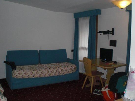 Hotel Garni Enrosadira : LA CAMERA