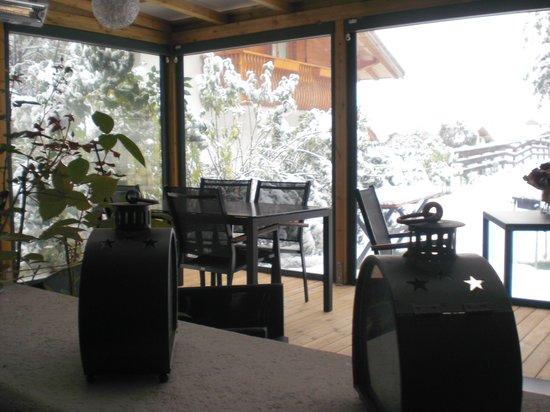 Hotel Enrosadira: zona fumatori