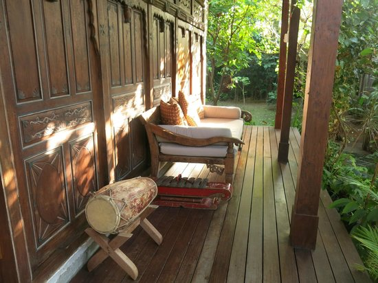 Villa Kampung Kecil: terrasse