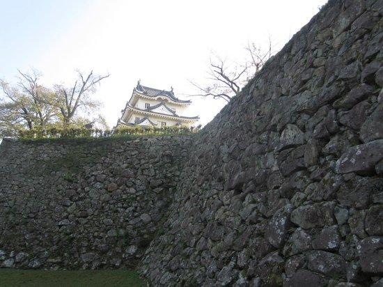 Uwajima Castle : 宇和島城石垣