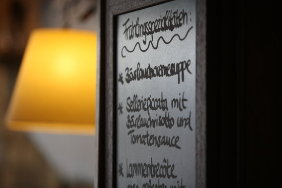 Restaurant Lapin: Chefs Menu