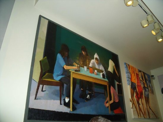 Quod Restaurant & Bar : Quod. Cuadro decoración sala