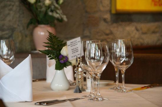 Restaurant Lapin: Tisch Impression