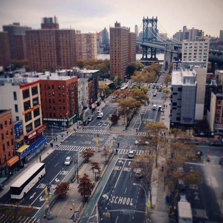 Howard Johnson Manhattan Soho: Blick von der Dachterasse ( aus dem Zimmer ist es ähnlich)