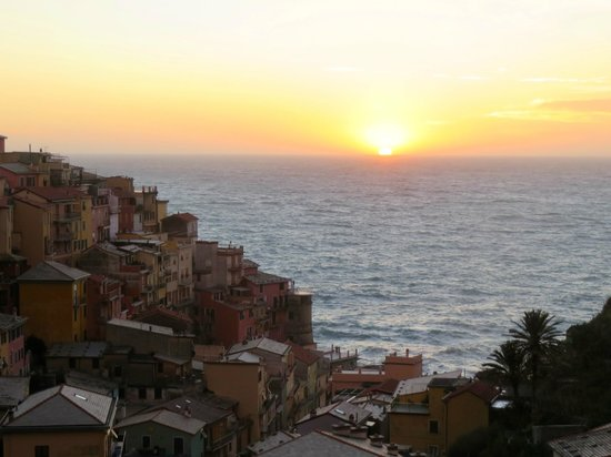 La Torretta : Amazing view and sunset!