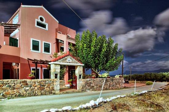 Olive Tree Apartments: Entrance at early November