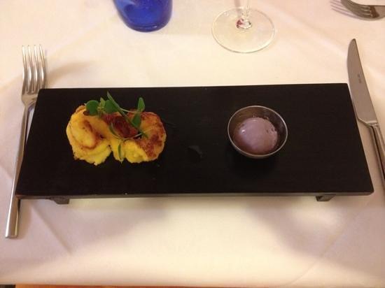 PS Ristorante: tempura di gamberi con gelato alla cipolla