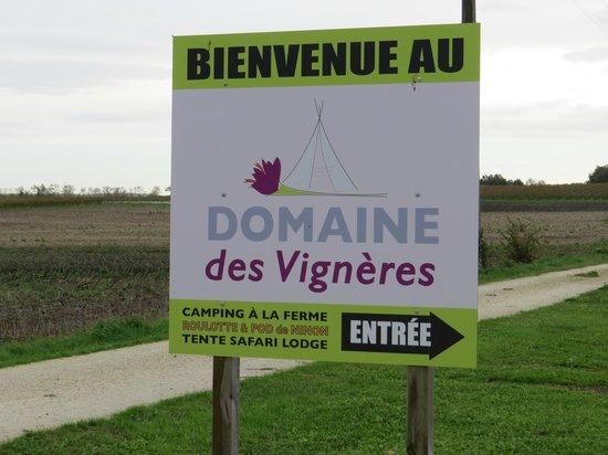 Domaine des Vigneres : Plaque domaine