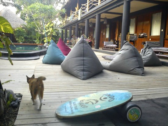 The Green Room Seminyak: Chillout Area