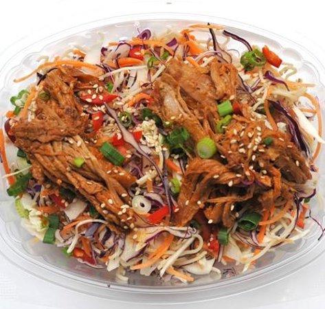 Martha's : Noodle Crunch Salad with Red Dragon Pork