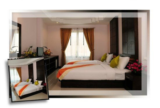 Ice Kamala Beach Hotel: Deluxe room with two single bed