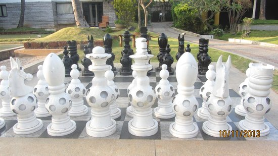 The Windflower Resort & Spa, Mysore: Outdoor Chess