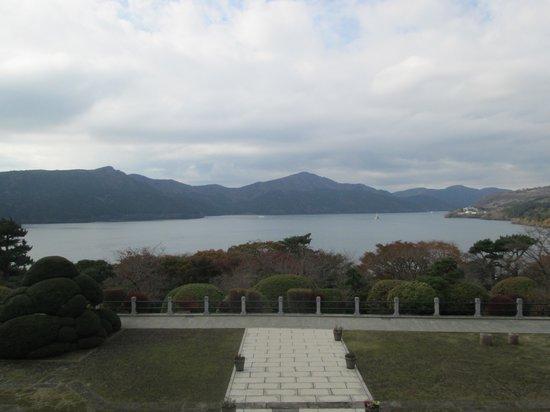 Onshi Hakone Park : 洋館からの眺め