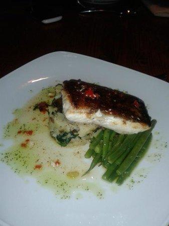 Letterfinlay Lodge Hotel: Εξαιρετικό φιλέτο από φρέσκο ψάρι!!!!