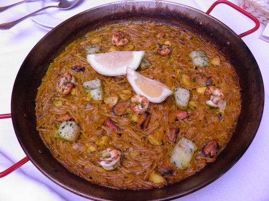 Sa Canova Restaurant: fideo