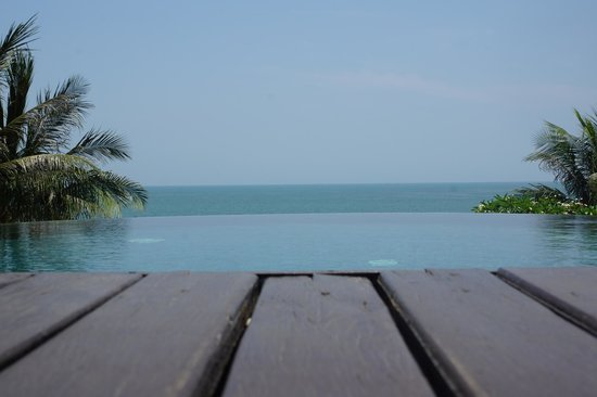 Aleenta Hua Hin Resort & Spa: From the sundeck