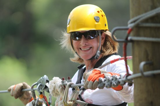 Hilton Ocala : Zip lining at nearby Canyons Zip