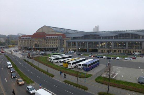 A&O Leipzig Hauptbahnhof: Aussicht Zimmer 322