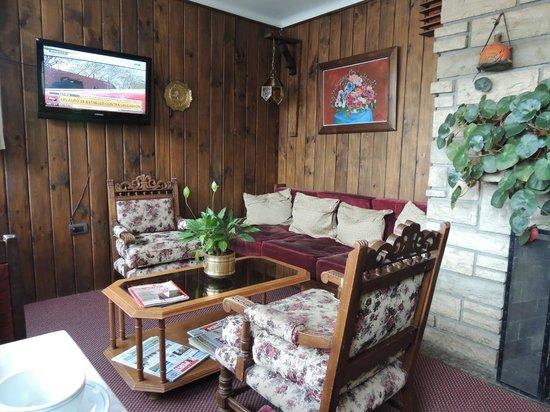 Hosteria El Nire : Sala próxima a recepção
