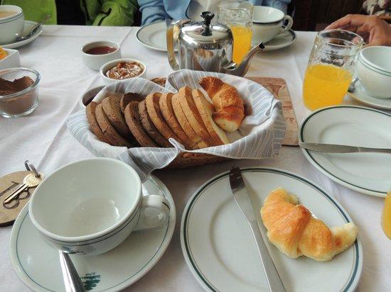 Hosteria El Nire : Desayuno
