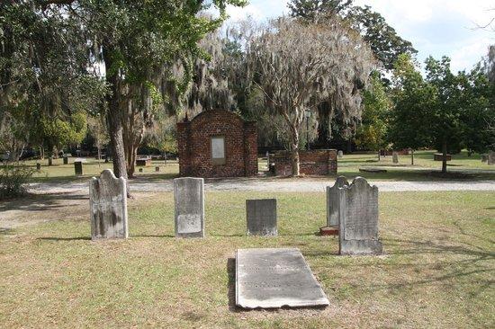 Colonial Park Cemetery: la taille de la tombe dépend de la richesse
