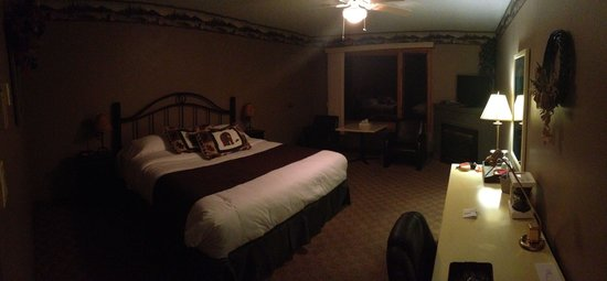 Log Cabin Inn: The most comfortable bed there is