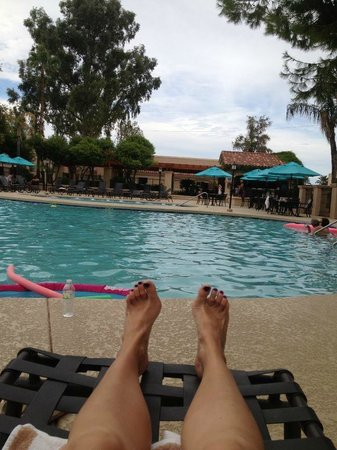 Scottsdale Plaza Resort: Hard day at the