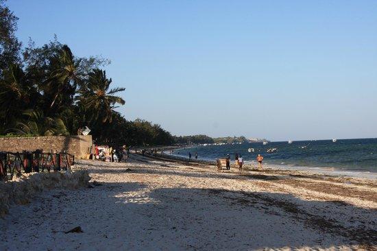 Nyali Beach: На пляже