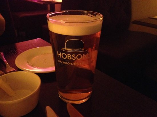 D'arcys at the station: Perfect Pint of Town Crier