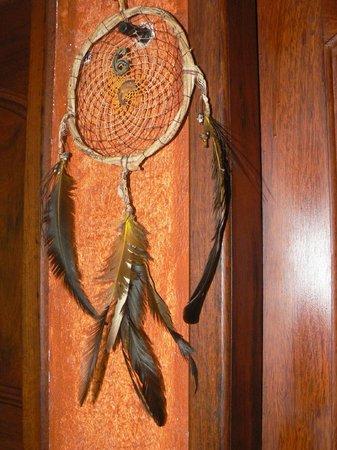 Pousada Naturalia: Porte chambre 6, capteur de rêves